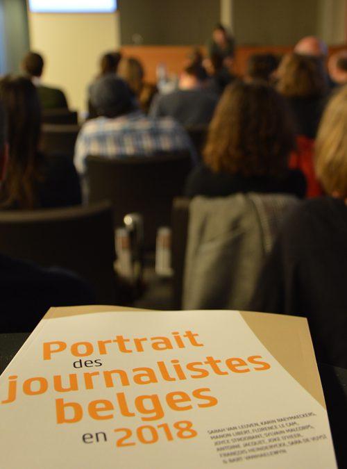 Enquête sur les journalistes belges 2018